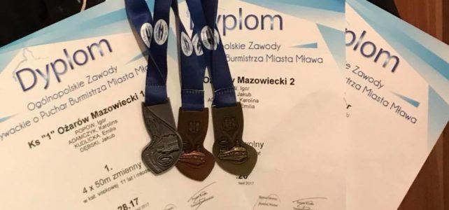Medale przywiezione z Mławy [wyniki]