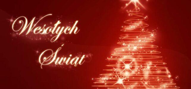 Wesołych Świąt i Szczęśliwego Nowego Roku 2021